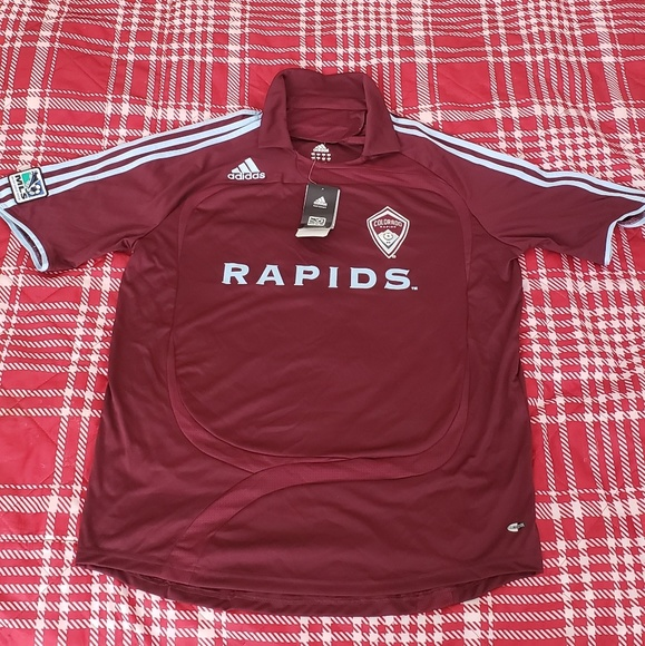 purchase cheap bbc56 8c8f1 Colorado Rapids 2007 Authentic Jersey MLS Large NWT
